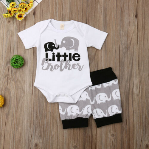 'Little Brother' Summer Outfit