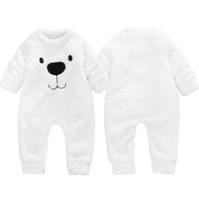 'Bear' Fleece Jumpsuit