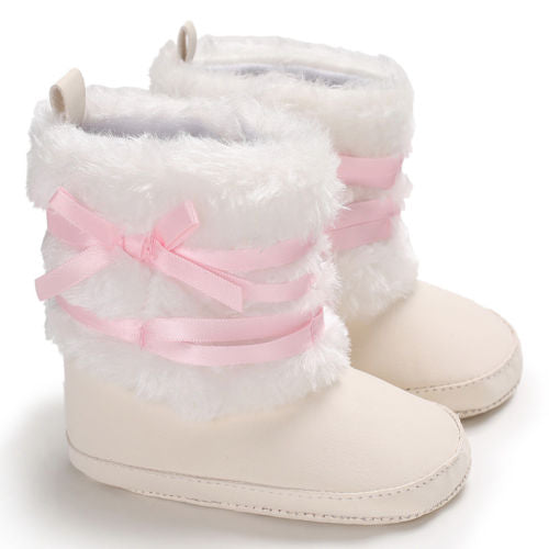Wrapped Fur Winter Boots