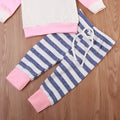 3 piece Girls Hoody Outfit with Headband
