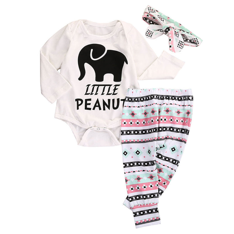 3 Piece 'Little Peanut' Outfit