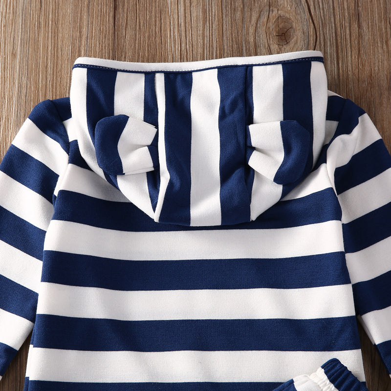 Striped Hoody Outfit
