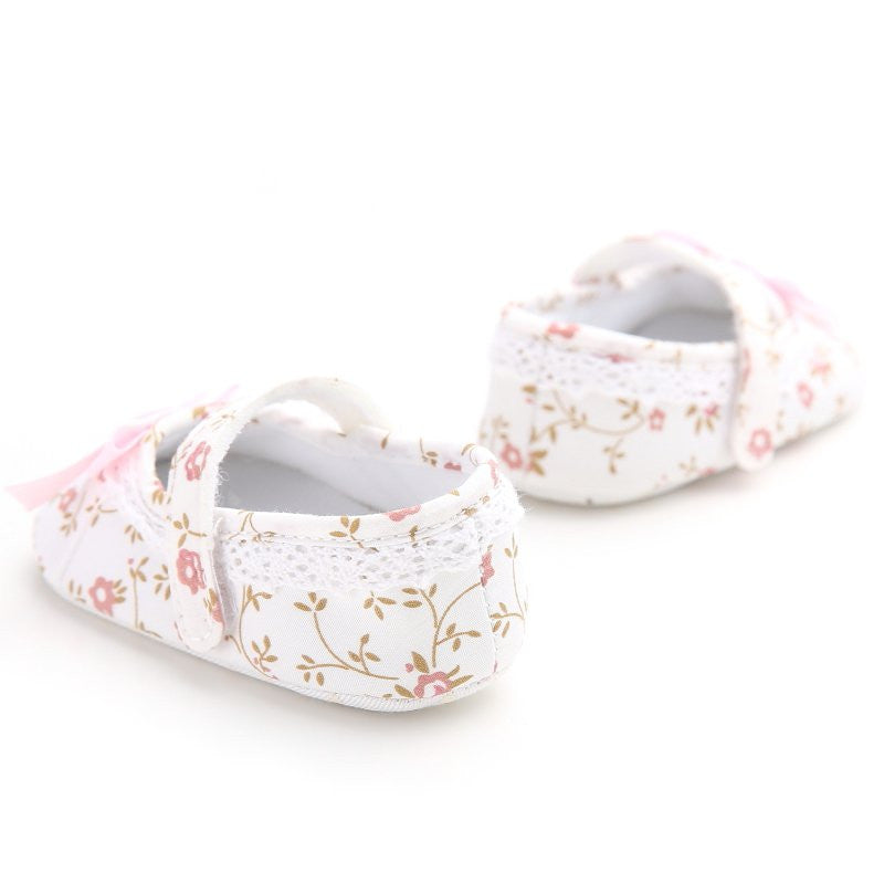 Floral Girls Slippers