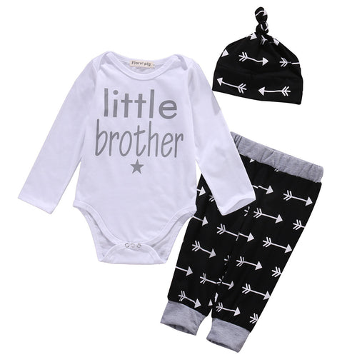 3 piece 'Little Brother' Outfit