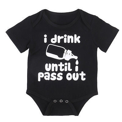 'I Drink Until I Pass Out' Onesie