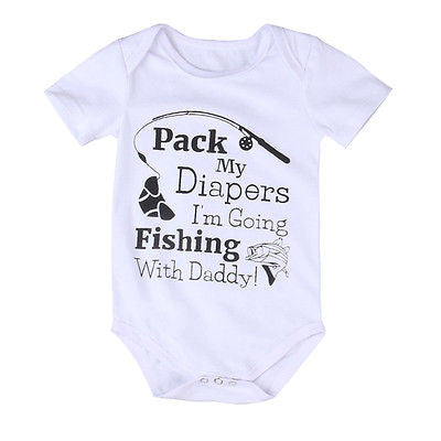 'Going Fishing with Daddy' Onesie