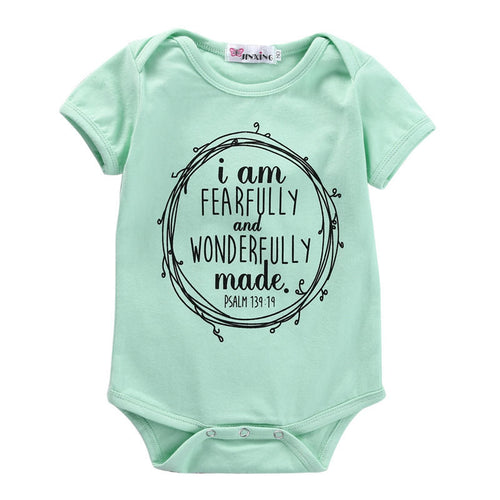 'Fearfully and Wonderfully Made' Onesie