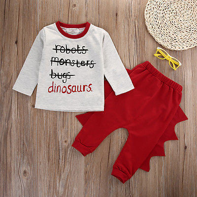 2 piece 'Dinosaur' Outfit