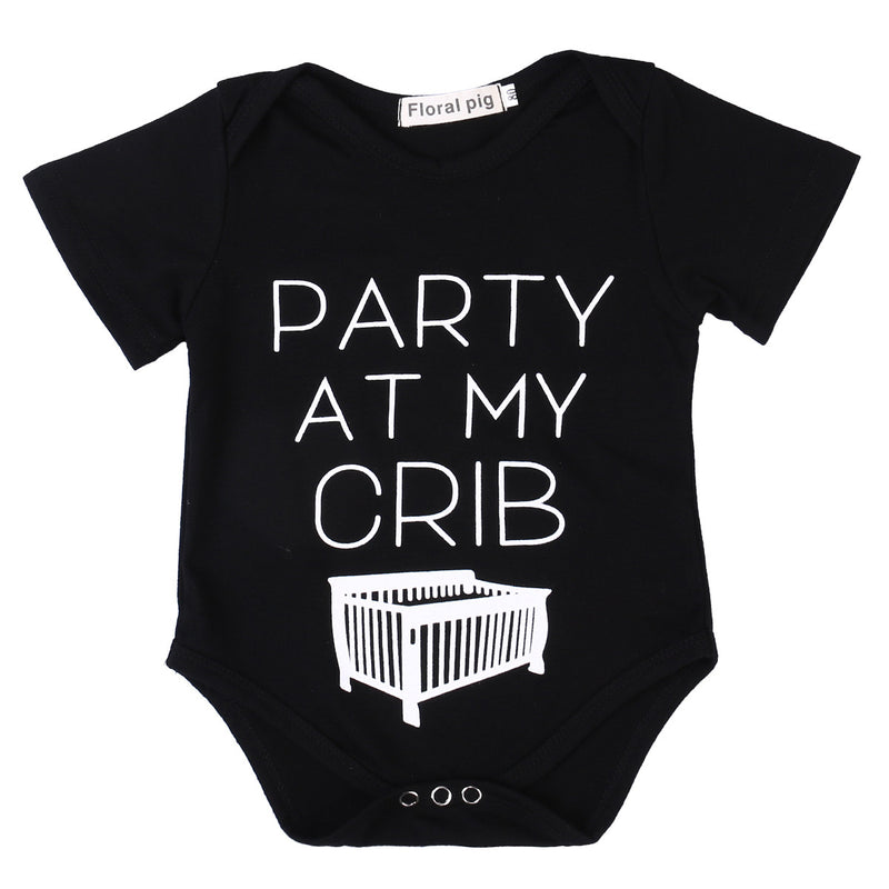 'Party at my Crib' Onesie