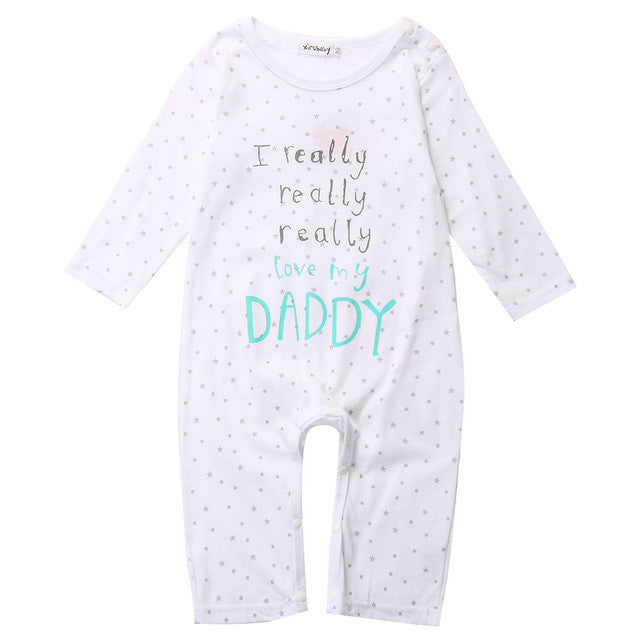 'I really really love my Mummy/Daddy' Jumpsuit
