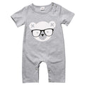 Gray Bear Jumpsuit