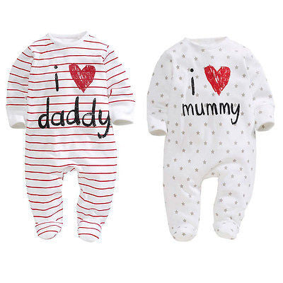 'I Love Mummy/Daddy' Jumpsuit