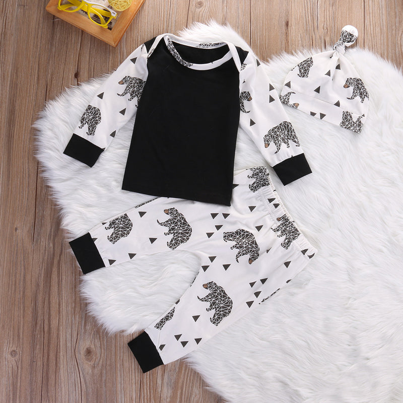 3 piece 'Bears' Outfit