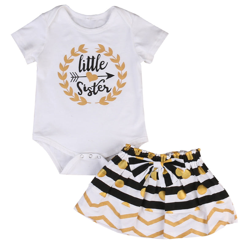 2 piece 'Little Sister' Outfit