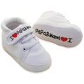 'I Love Papa & Mama' Canvas Shoes