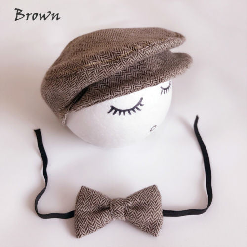 Baby Cap Hat with matching Tie