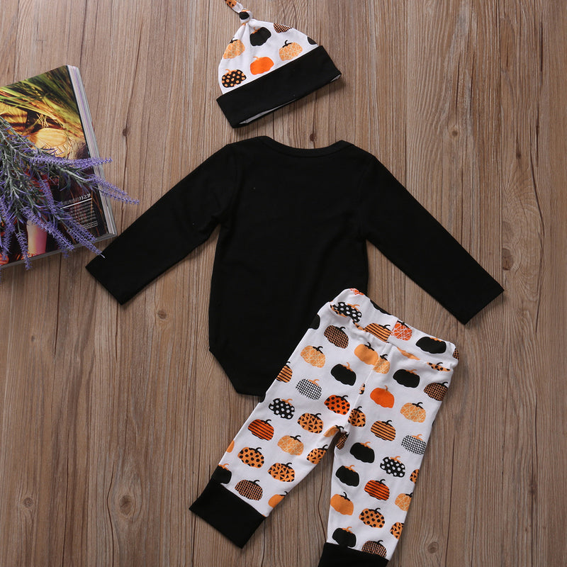 3 piece 'Happy Halloween' Outfit