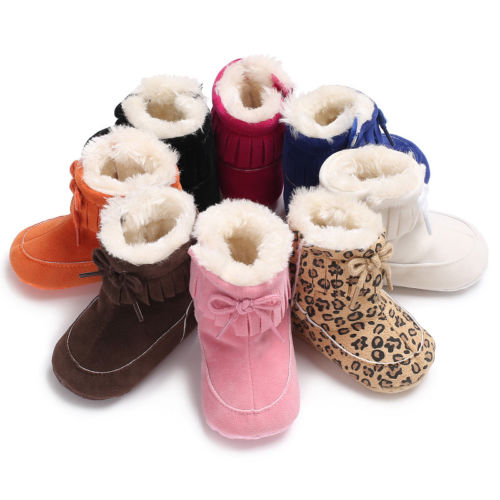 Baby Winter Tassel Boots
