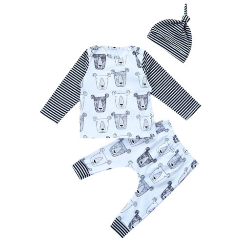 3 piece 'Bear Family' Outfit
