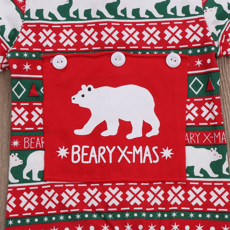 'Beary X-mas' Jumpsuit
