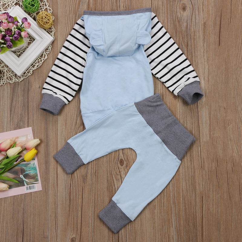 2 piece 'It's 5am Somewhere' Striped Outfit