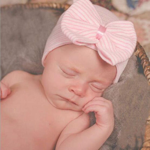 Newborn Big Bow Beanie
