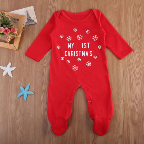 'My 1st Christmas' Jumpsuit