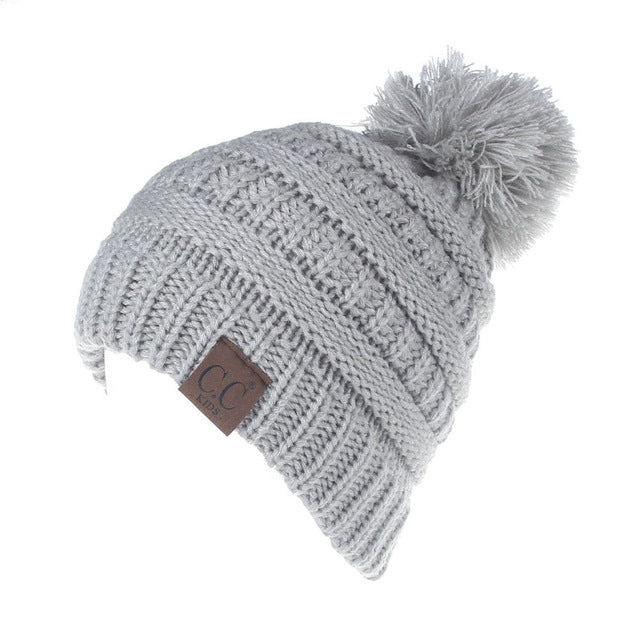 Cozy PomPom Winter Beanie