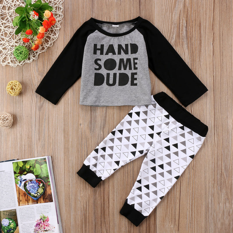 2 piece 'Handsome Dude' Outfit