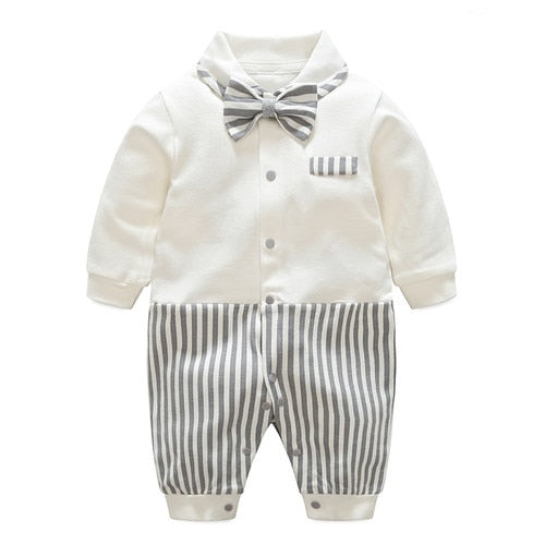 Striped Gentleman Jumpsuit