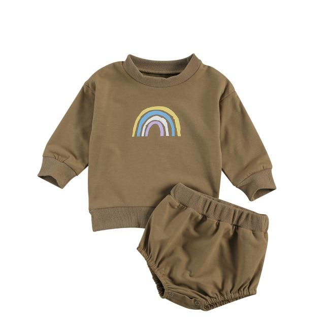 RAINBOW Long-sleeve Outfit
