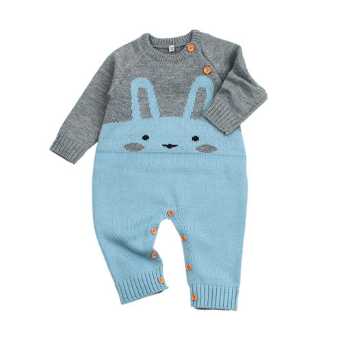 Knitted 'Bunny' Jumpsuit