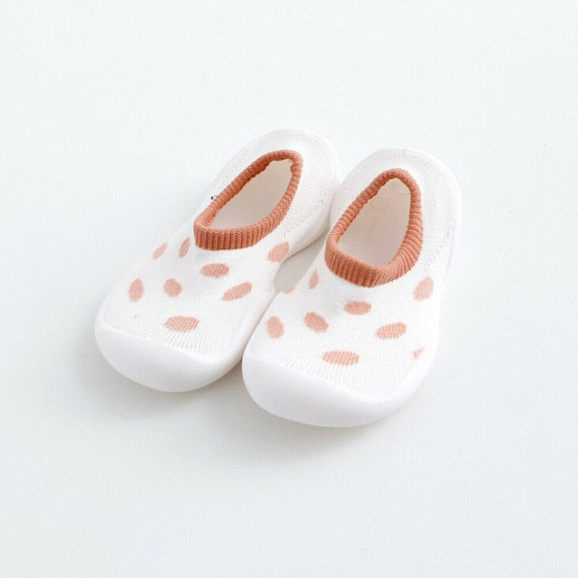 Polka Dot Sock Shoes