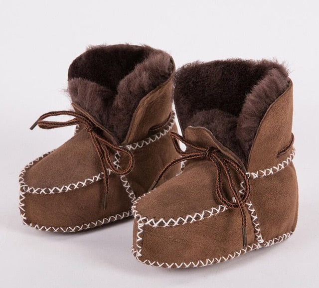 'Sheepskin' Winter Boots