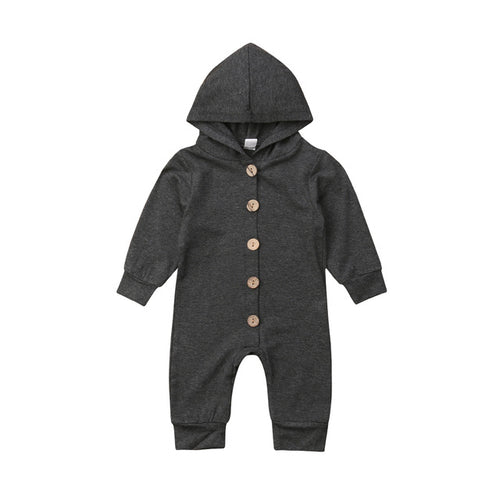 Cozy Hooded Jumpsuit
