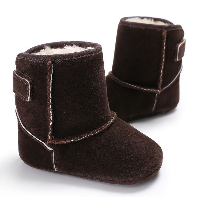 Cozy Velcro Winter Boots