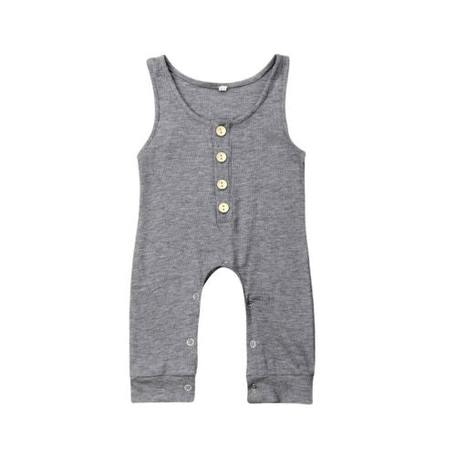 'Lou' Button Jumpsuit