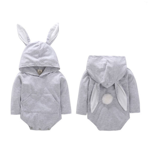 'Little Bunny' Hooded Onesie