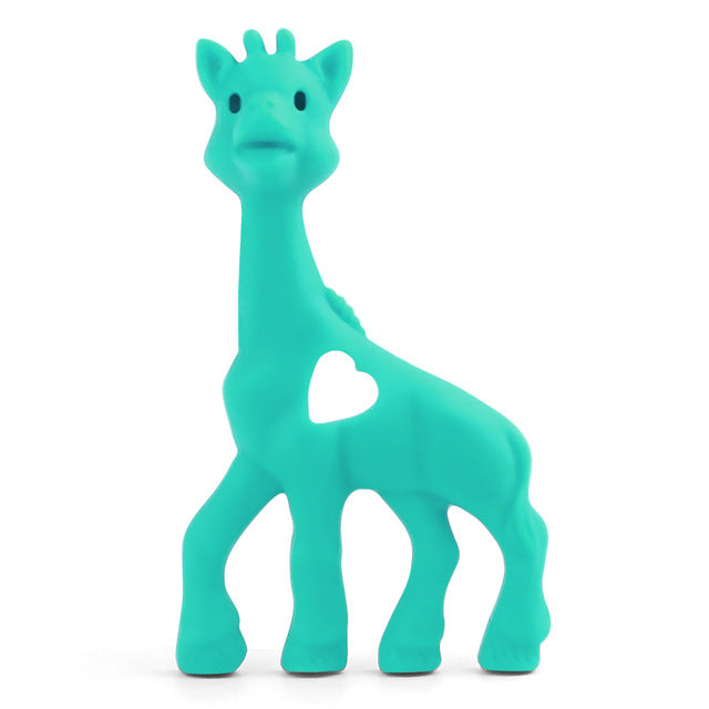 Giraffe Silicone Teether