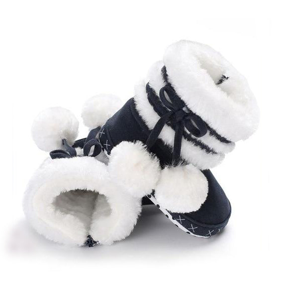 PomPom Winter Boots