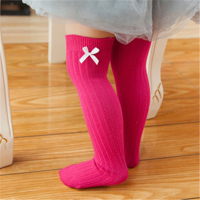 'Bowtie' Knee High Socks