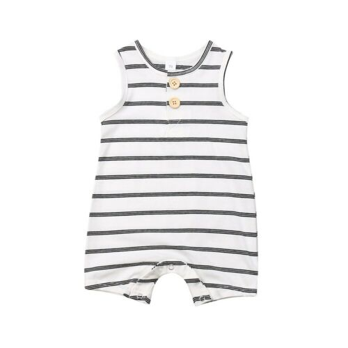 'Max' Striped Summer Romper