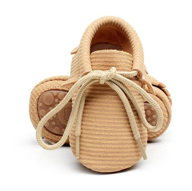 Anti-Slip Leather Moccasins