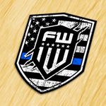 1W Blue Line Decal