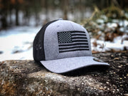 United Flag Black FLEXFIT