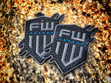 1W Logo PVC Patch