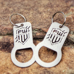 FirstWarrior Keychain/Bottle Opener
