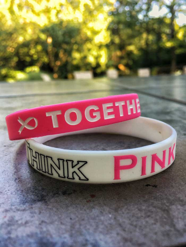 Think Pink Wristbands