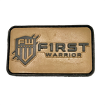 FW FDE Text PVC patch