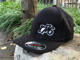 1776 Black Flexfit Custom Hat - First Warrior
